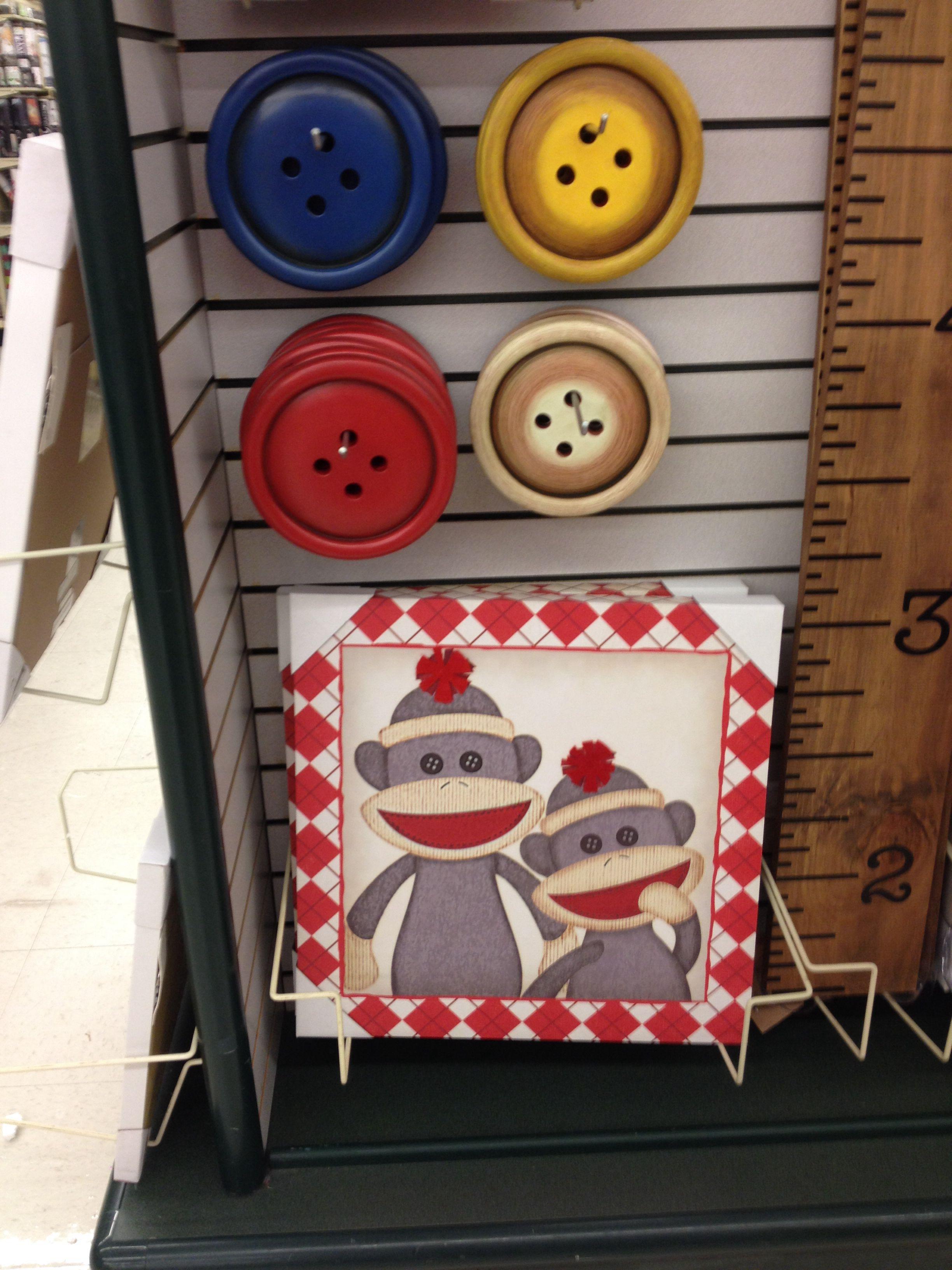 Hobby Lobby Sock Monkey (With images) | Holiday decor ...
