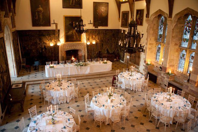Wedding Breakfast In The 14th Century Great Hall At Berkeley Castle Www Andrewhackett