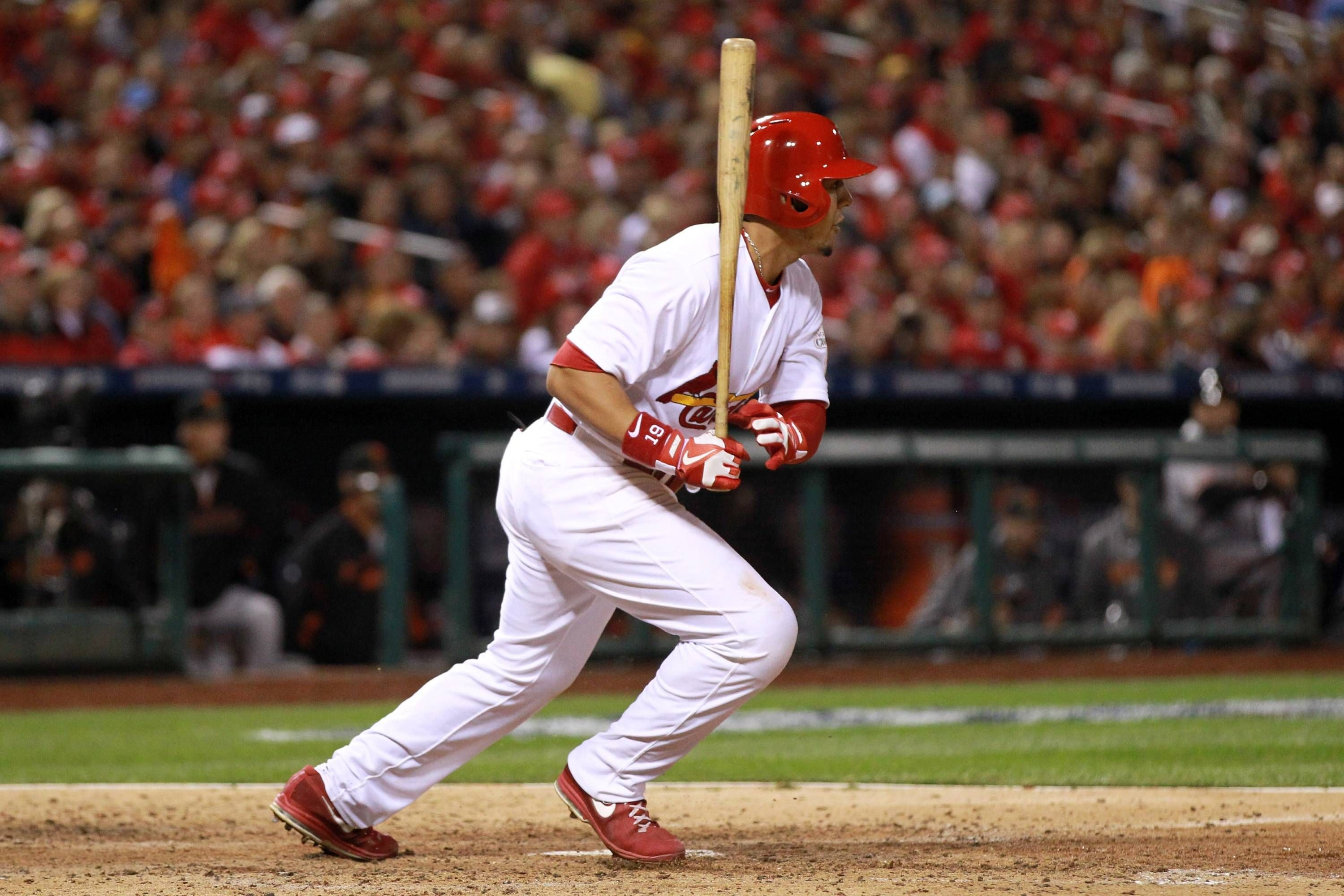 Jon Jay RBI Doubles in Sixth Game 4 NLCS San Francisco