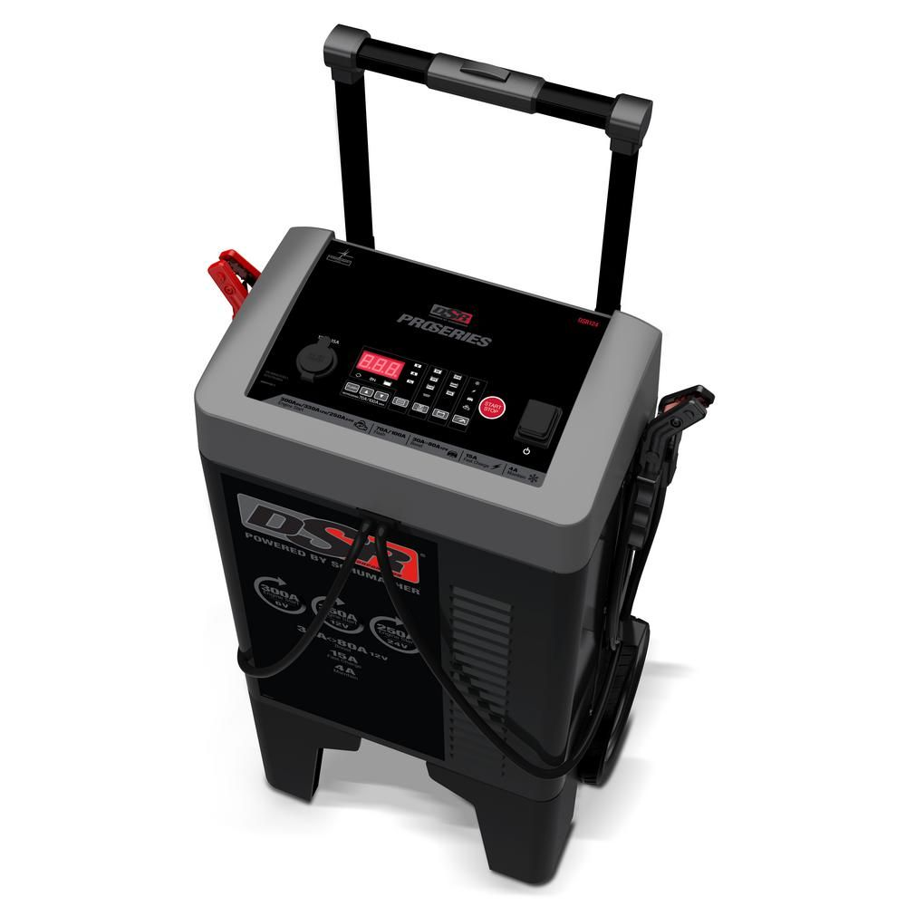 Schumacher Proseries 300 Amp 6 12 24 Volt Wheel Charger Dsr124 Products Automatic Battery Charger Charger 24 Volt Battery