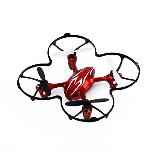 Fx 4v 2 4g 5ch Rc Quadcopter Drone W Voice Control 3d Flips Rtf Red Rc