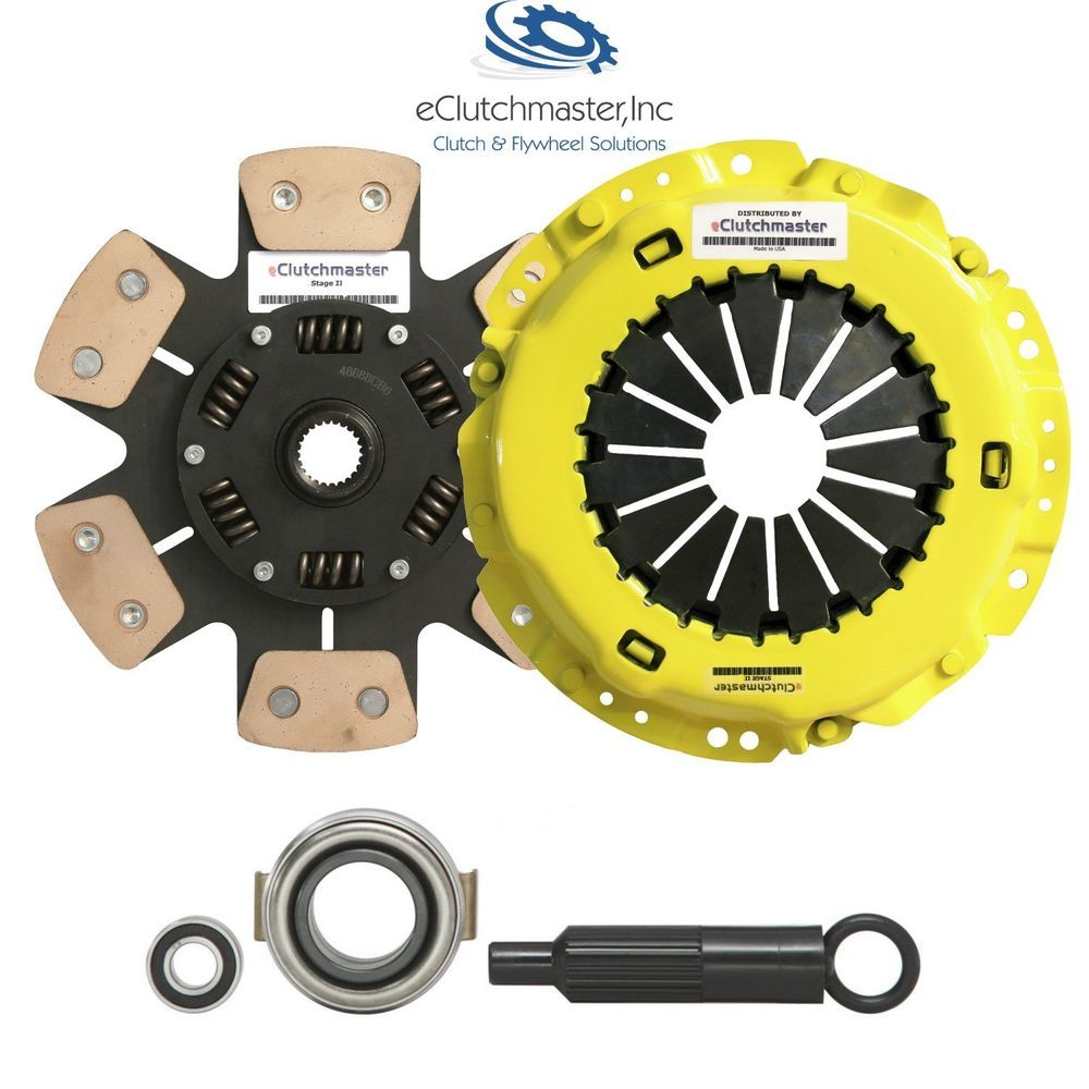 Details About STAGE 3 HEAVYDUTY CLUTCH KIT Fits 86-95