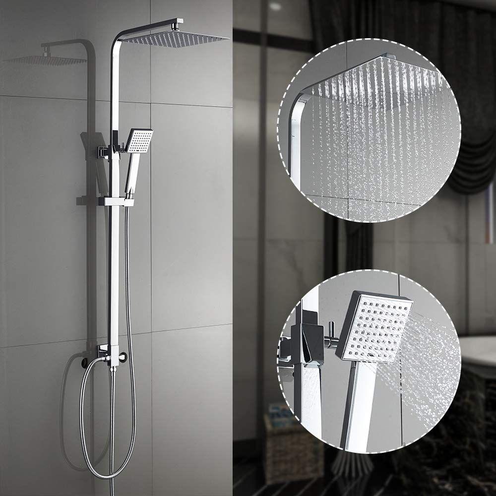 Duschsystem Regendusche In 2020 Duschsysteme Regendusche Handbrause