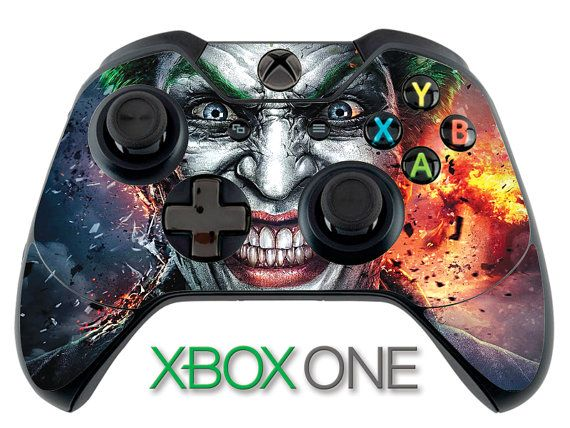 Joker Skin Batman Arkham Night Skin Xbox One Controller ...