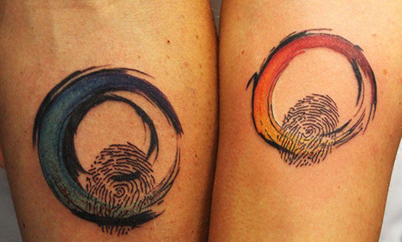 Los Tatuajes De Huella Dactilar Son Una Bonita Forma De Representar