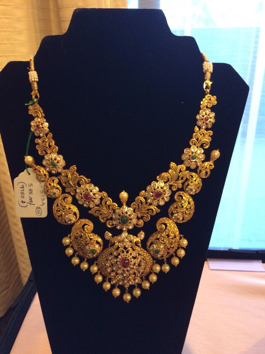 jewellery gold ideas l necklace pinterest indian best on
