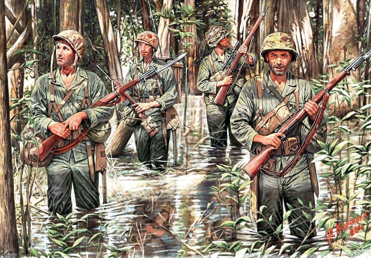 dibujo marines de EE.UU.