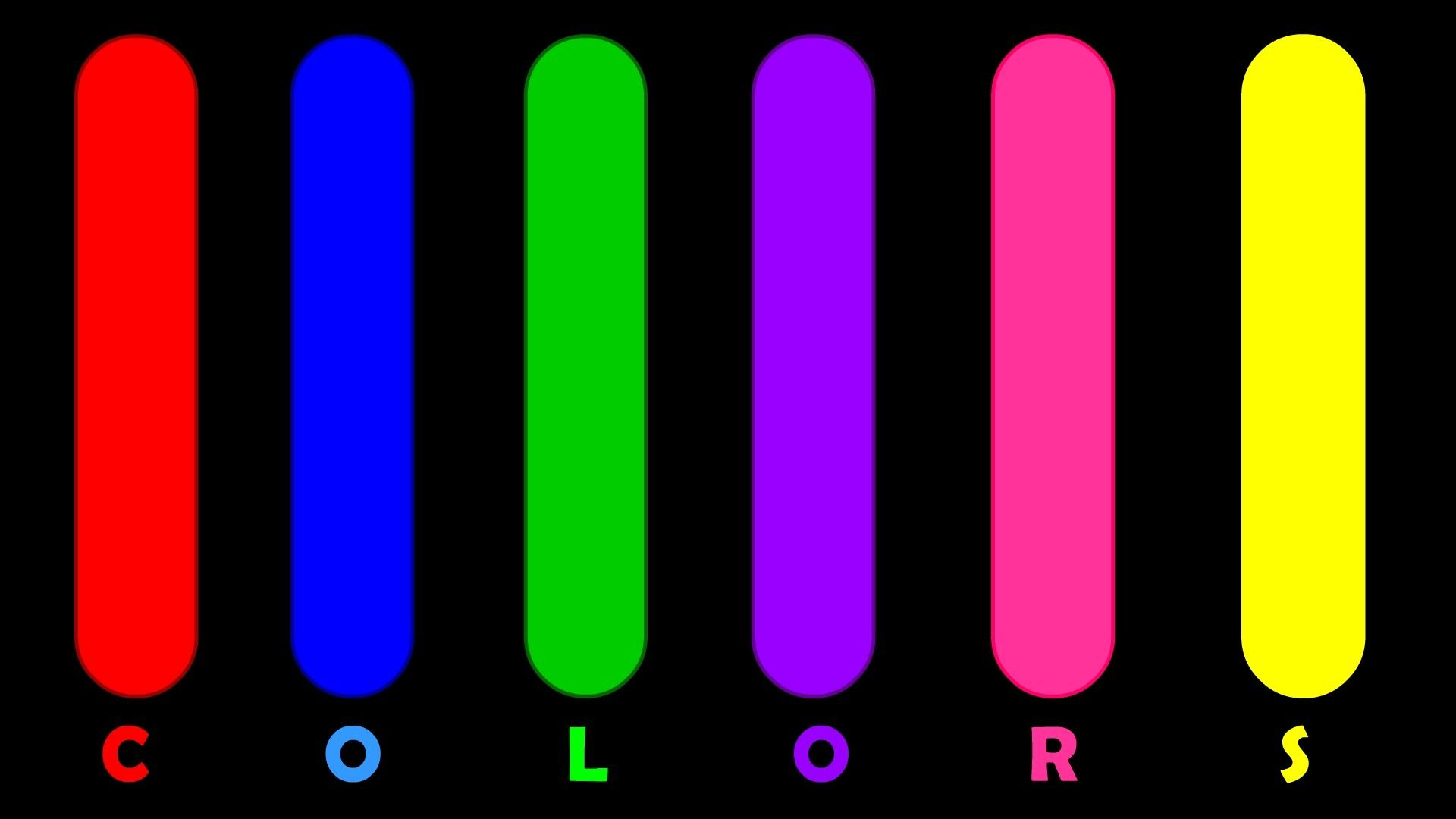 colors for children learn basic colors names with pictures