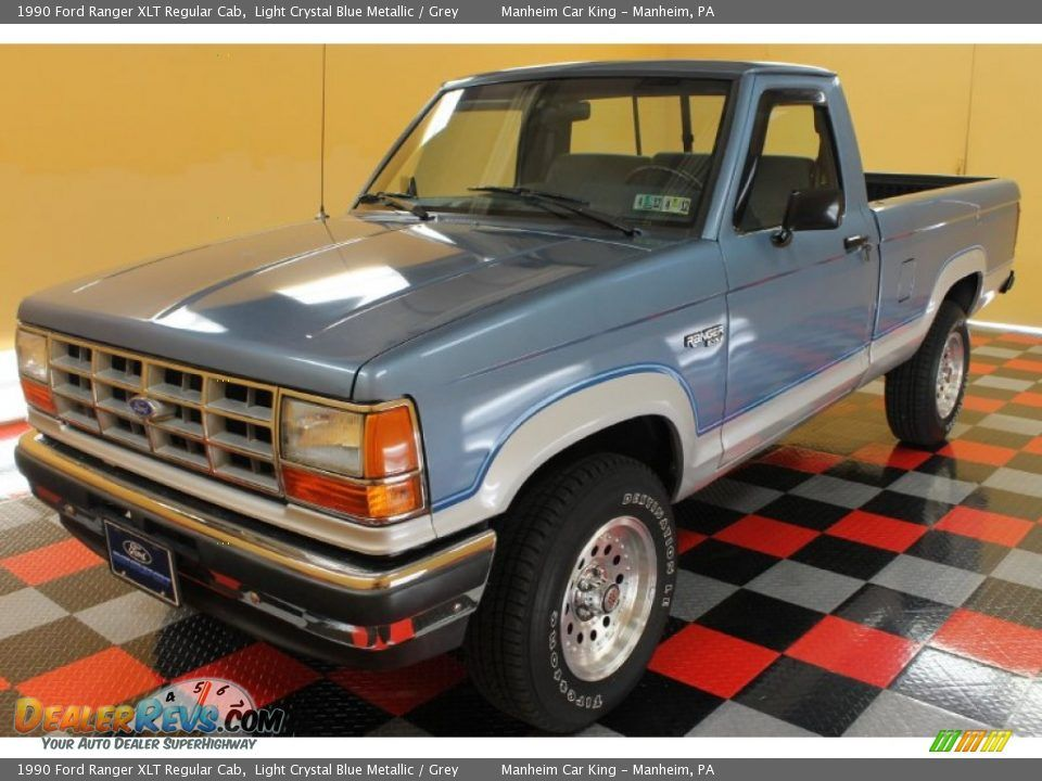Front 3 4 View Of 1990 Ford Ranger Xlt Regular Cab Photo 2 Ford