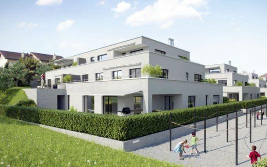 Neubau Immobilien Und Neubauprojekte Wohnuberbauung Blumenrain Emmen Uberbauung Neubau Immobilien