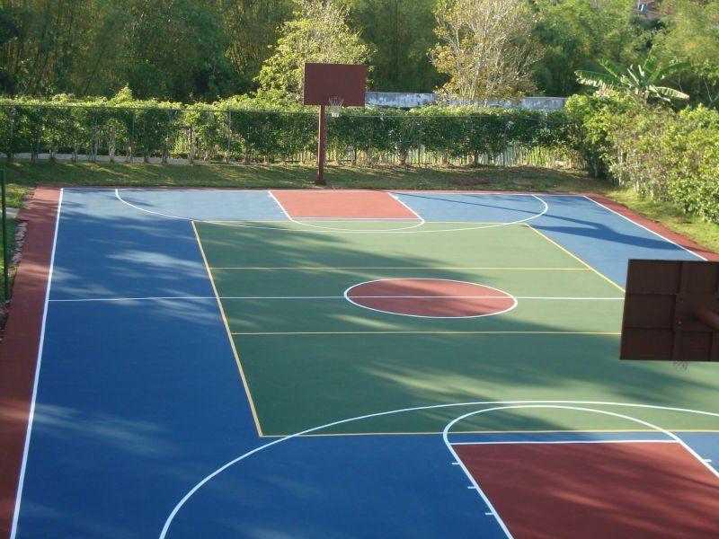 Sport Court Tennis Court Backyard Tennis Court Basketball Court Backyard