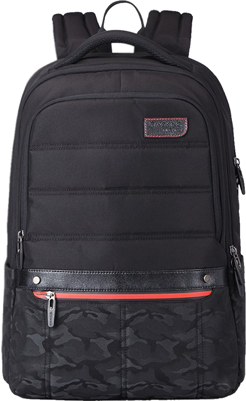 69652727c0 Buy Aoking 15.6 Polyester Laptop Backpack School Bag College Bag Backpack  Camouflage (Black) from Amazon.