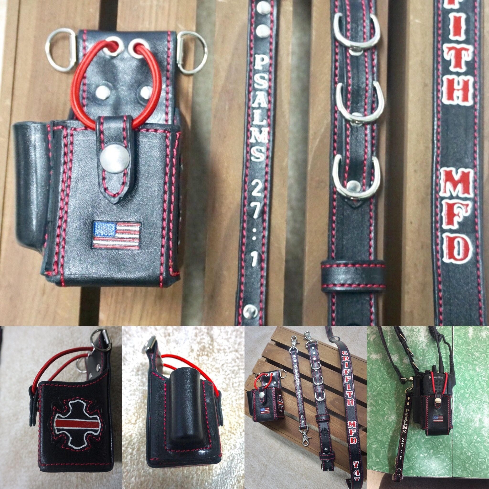 Radio Strap With Flashlight Holder And Extra Drings Leather. Radio Strap With Flashlight Holder And Extra Drings Fire Hter Paramedic Hting Leather Working. Wiring. Leather Harness Radio Holster At Scoala.co