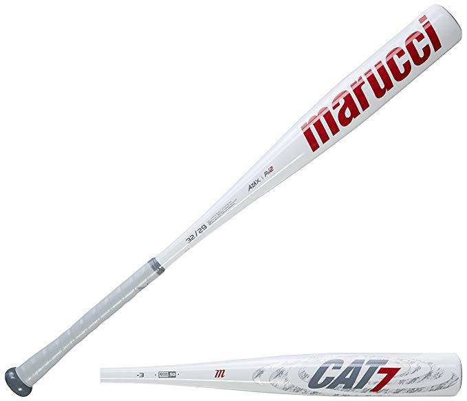 Amazon Com Marucci Mcbc7 Cat7 Bbcor Baseball Bat 31 28 Oz Sports Outdoors Baseball Bat Baseball Bat