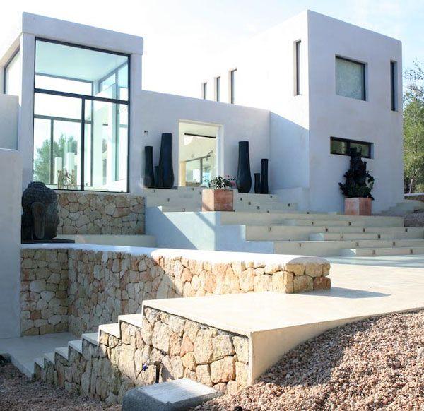 Casa en ibiza de jaime serra arquitectos arquitectura for Casa moderna mediterranea