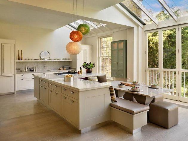 elegant-modern-beige-kitchen-island-design-with-cream-marble