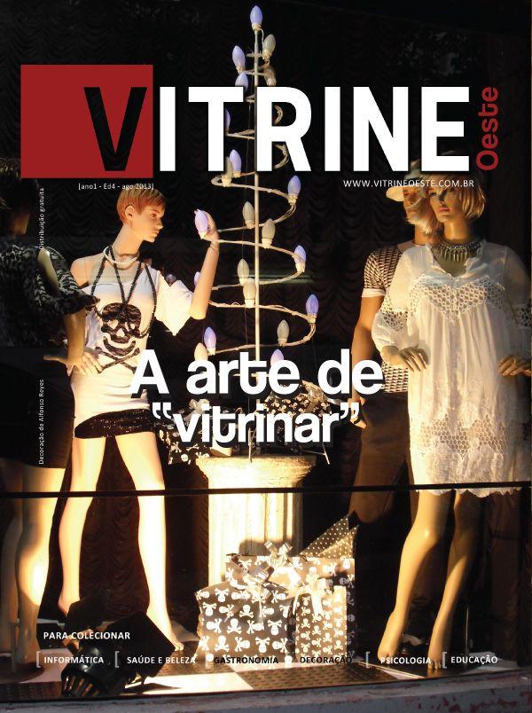 Capa da Revista Vitrine Oeste 1º Ano - Edição 04