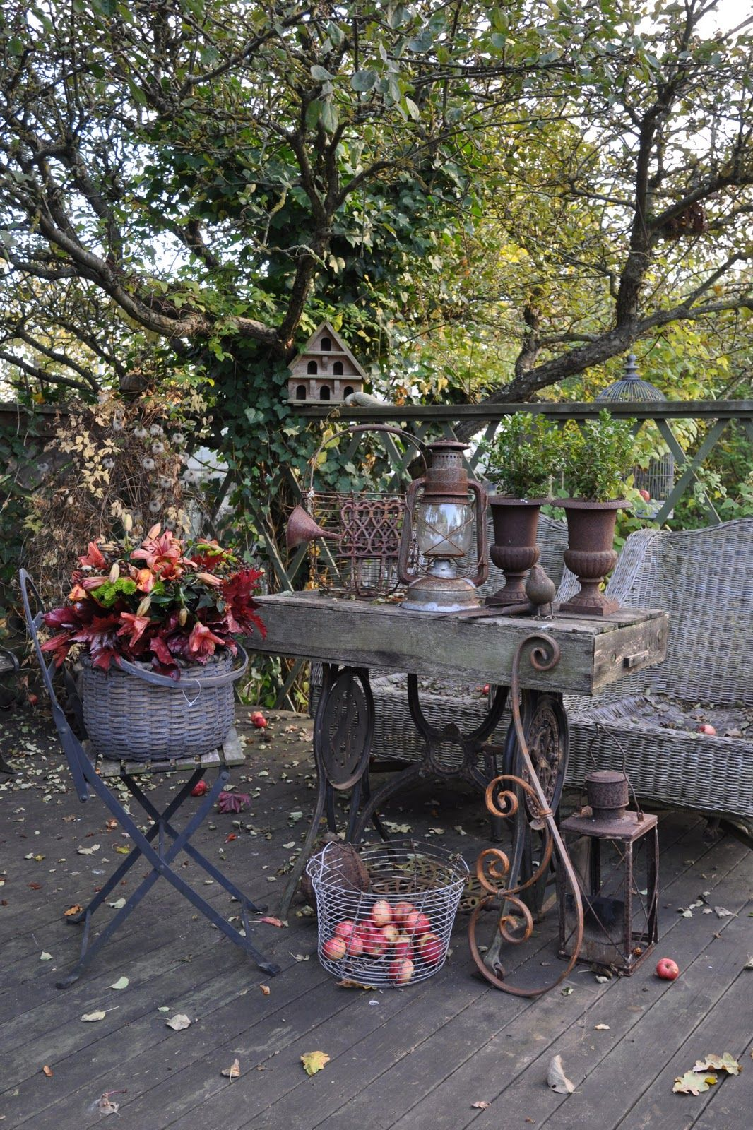 Inspirationlane Rustic Patio Diy Backyard Outdoor Gardens