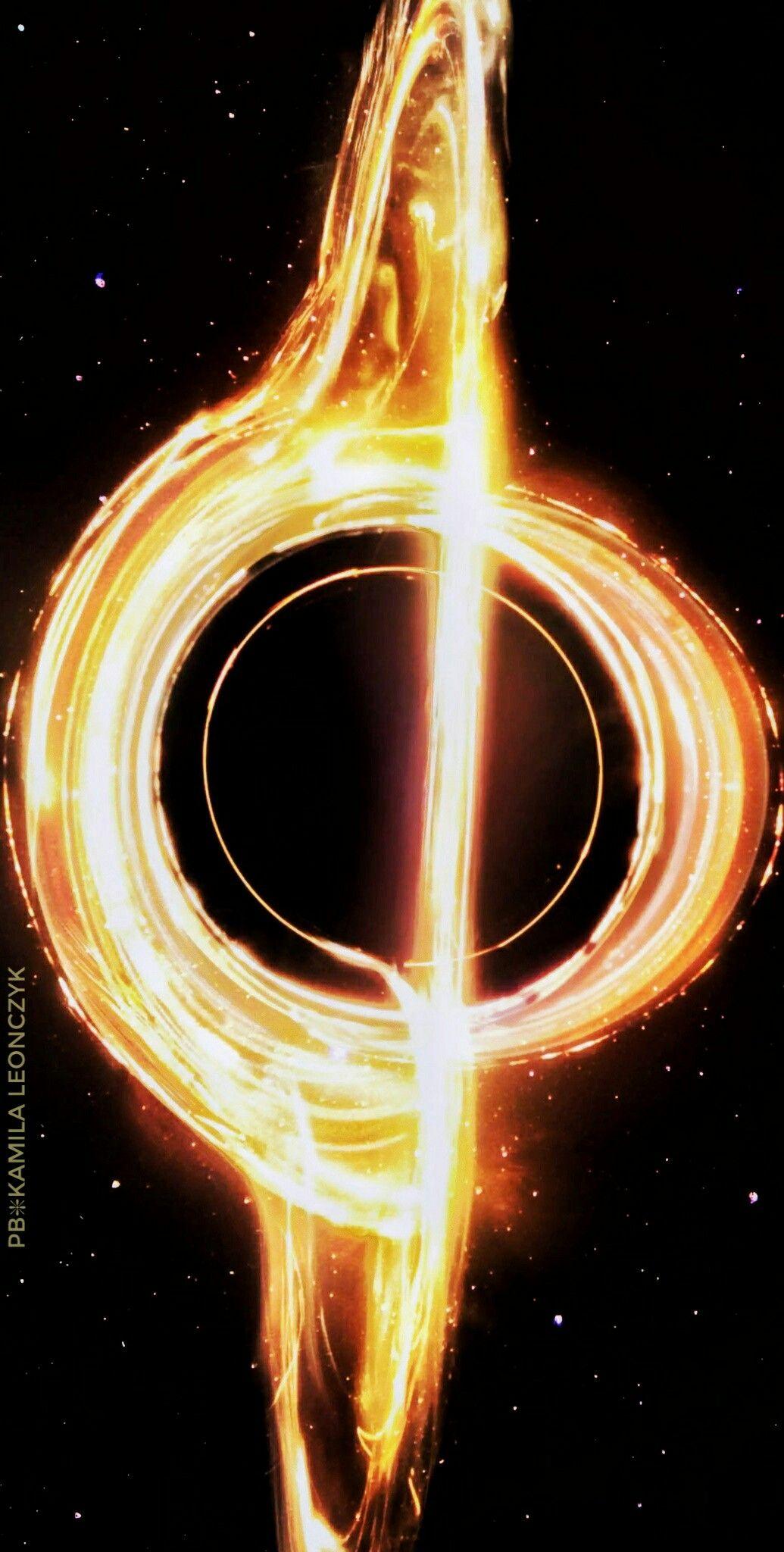 Accretion disk around a black hole   Pins of interest