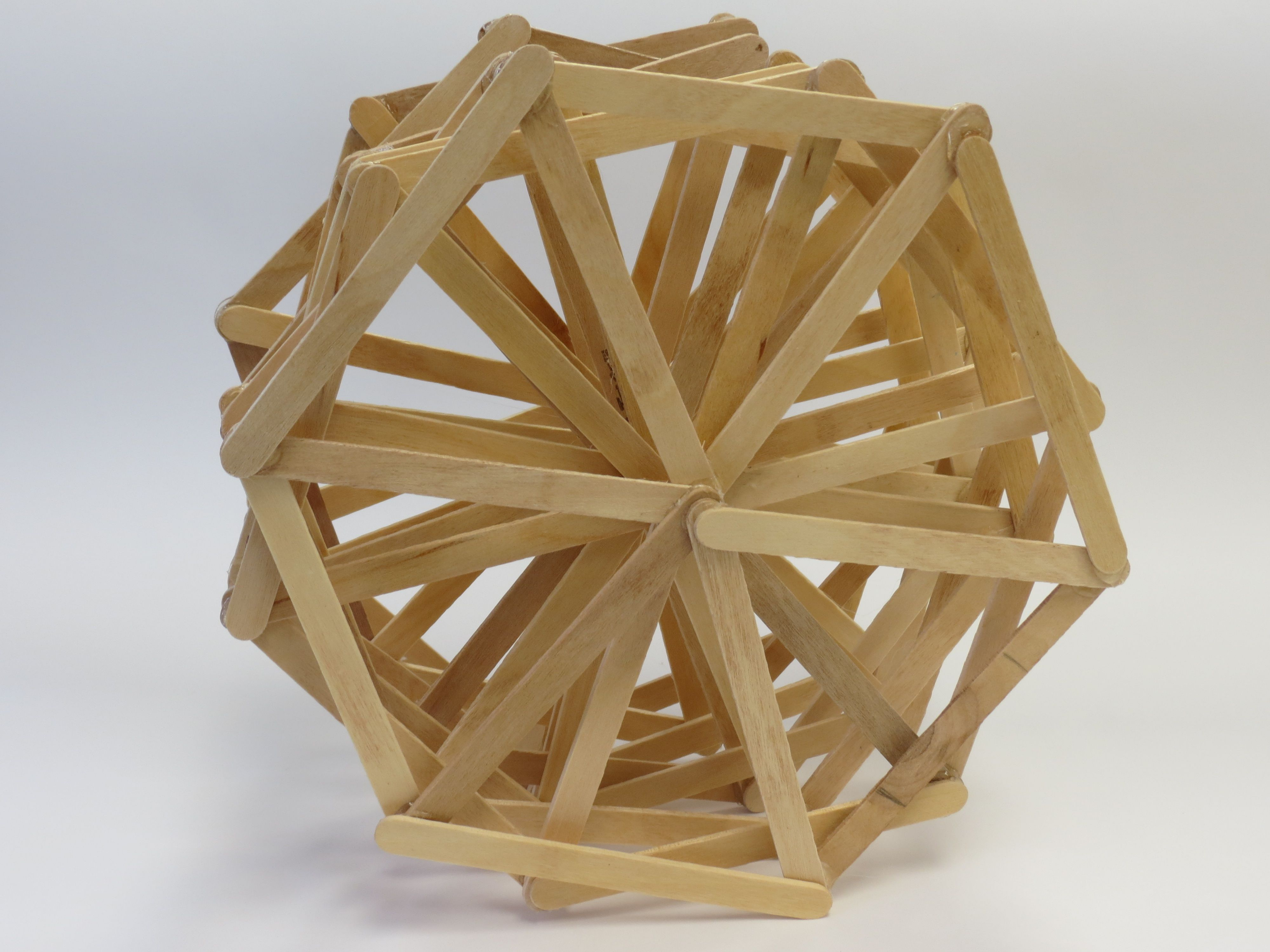 Crafts for highschool students - Lehigh Senior High School Center For The Arts Student Work Popsicle Stick Sculpture