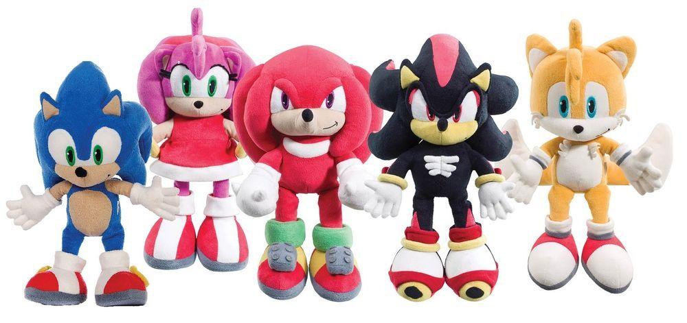 Shadow the Hedgehog Plush 14'' Sonic X