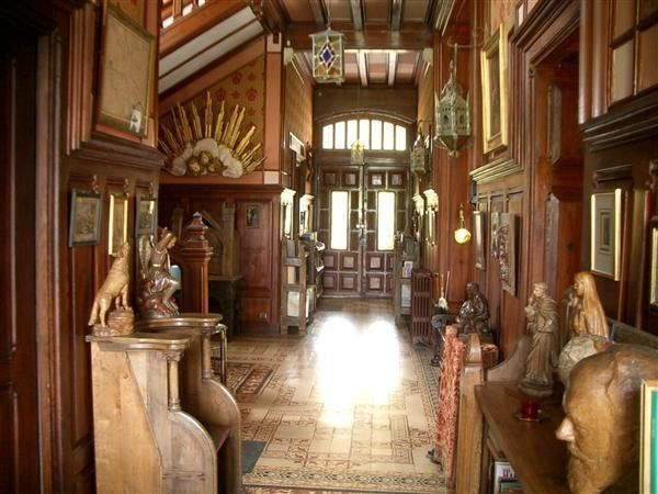 castle interior design | 19th century french storybook tudor house