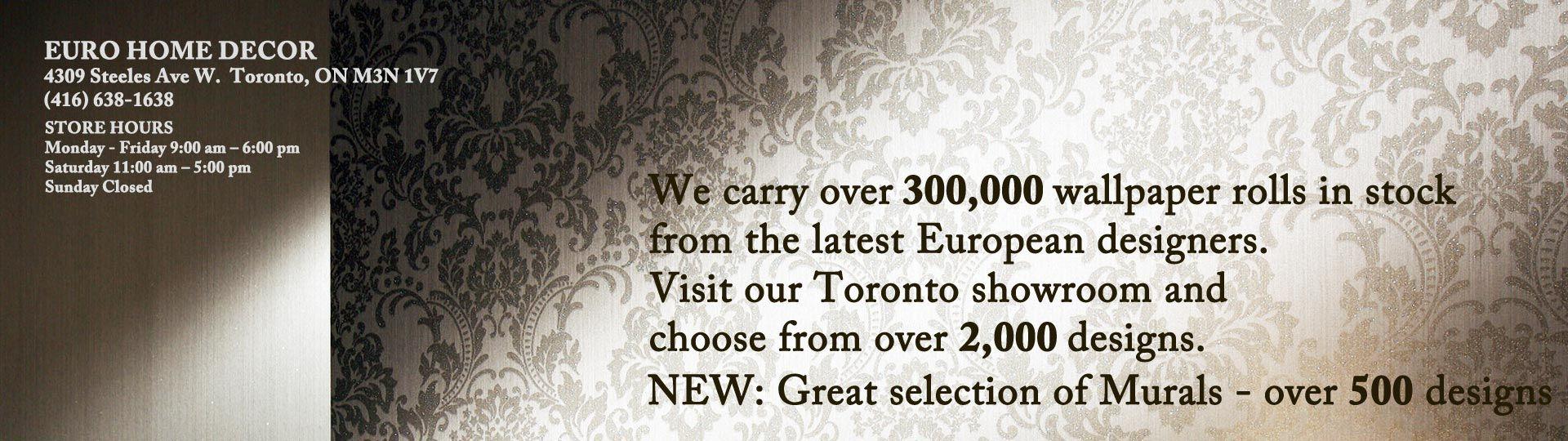 Euro Home Decor 4309 Steeles Ave W Toronto Ontario M3n 1v Over - home decor toronto ontario