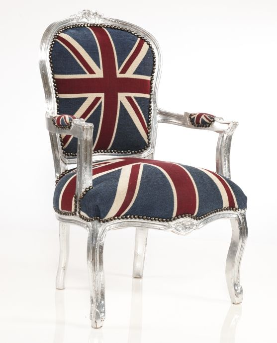 Delightful Union Jack Fauteuil   That. Is. Awesome.