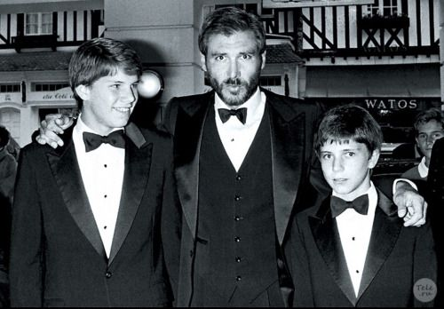 Harrison ford kids, Harrison ford, Ford