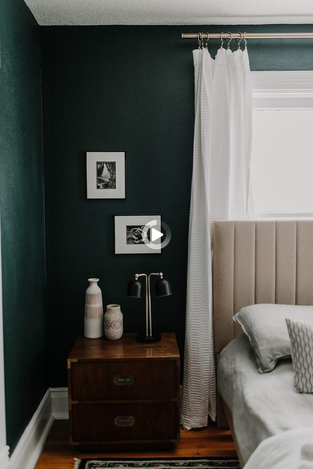 Redirecting In 2021 Green Bedroom Walls Bedroom Interior Spare Bedroom Green spare bedroom ideas