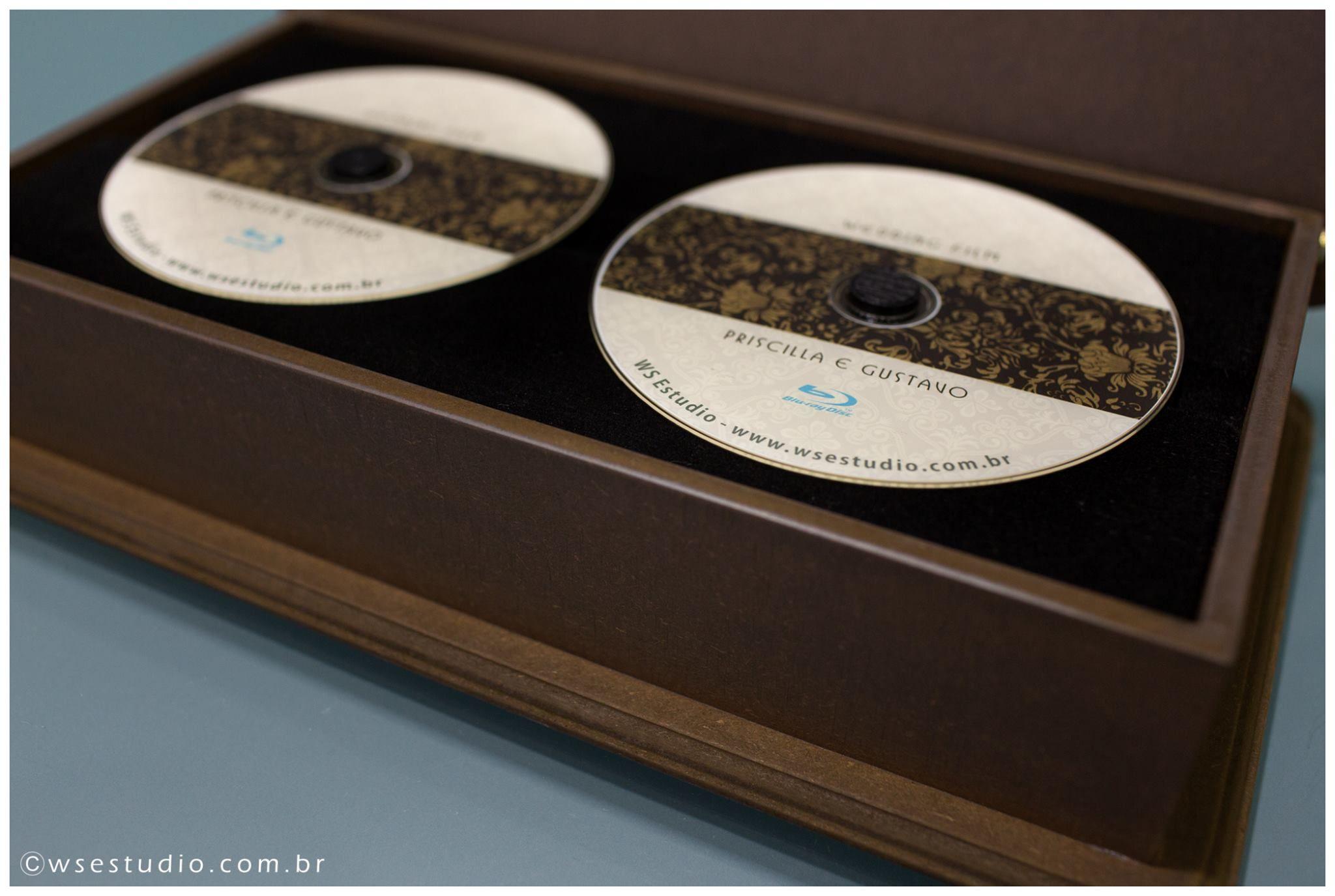 Embalagem para DVD
