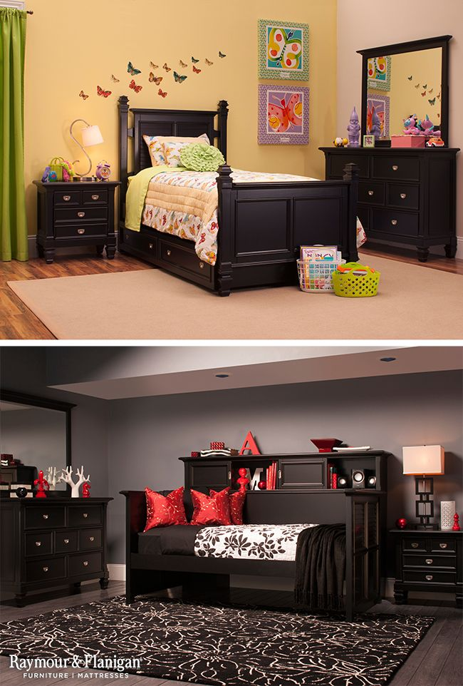 This Varsity Kids Collection Has So Many Options For Your Kids Room It Comes In A Twin Or Full Post Bed Or A Day Be Second Bedroom Ideas Kids Room Girl Reymon y flanigan living room