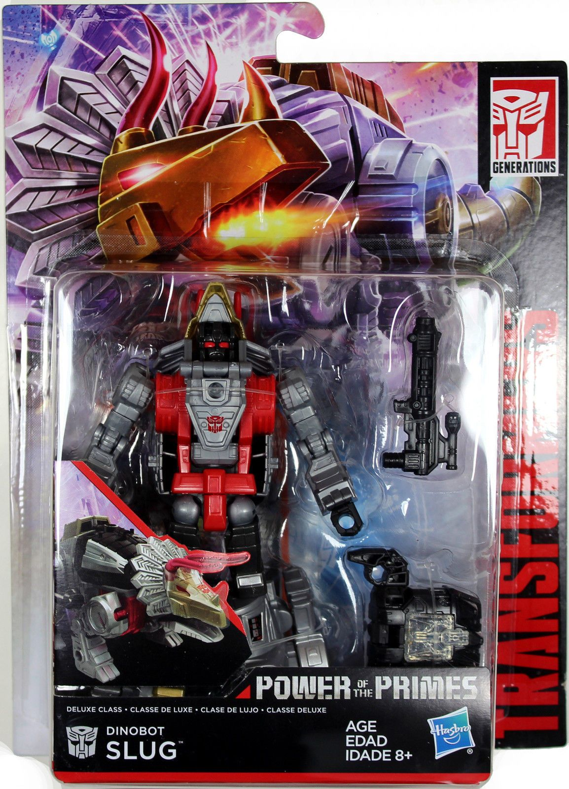 NO BOX TRANSFORMERS GENERATIONS POWER OF THE PRIMES DELUXE DINOBOT SLUG