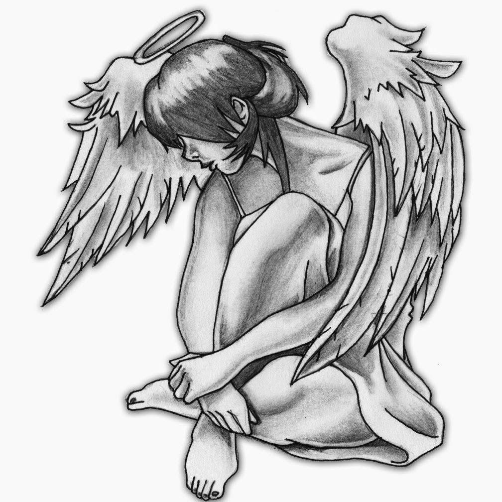 Tatuajes De Angeles Para Chicas Y Disenos De Regalo Angel Caido Tatuaje Tatuaje De Angel Tatuaje Angel
