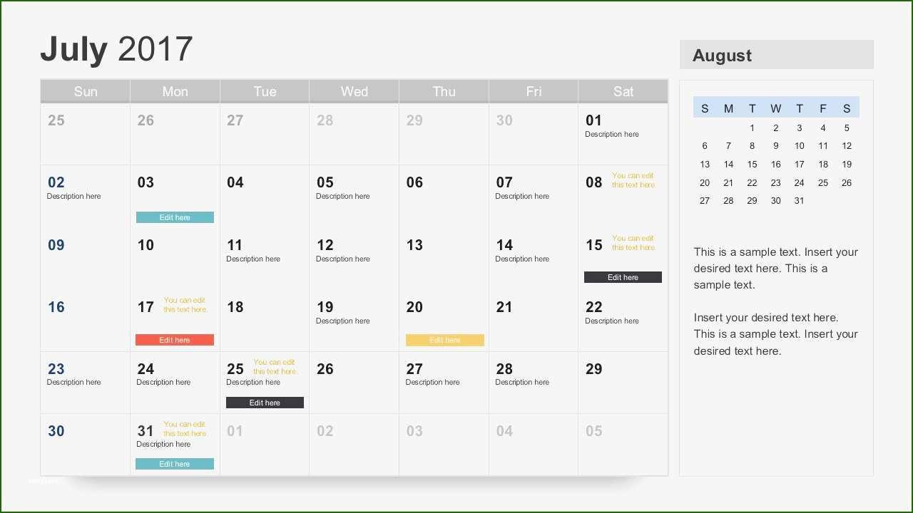 16 Formidable Powerpoint Calendar Template 2017 In 2020 Calendar Template Printable Calendar Template Monthly Calendar Template