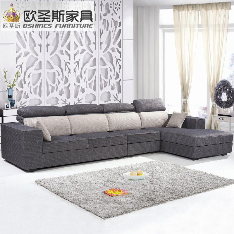 Divano Angolare Tessuto Prezzi.Fiera Economici Prezzo Basso 2017 Modern Living Room Furniture