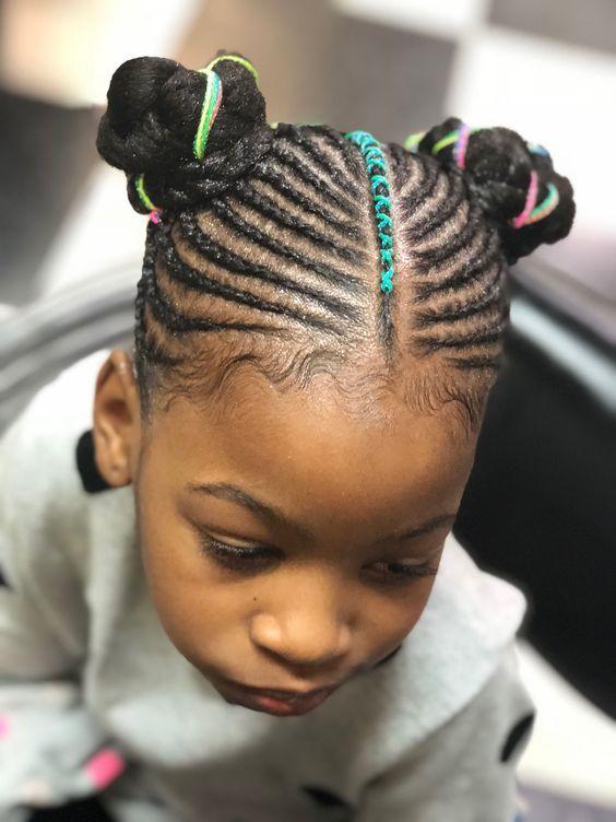 2019 BRAIDED NEW HAIRSTYLES | Kid braid styles, Braids for kids, Braid styles for girls