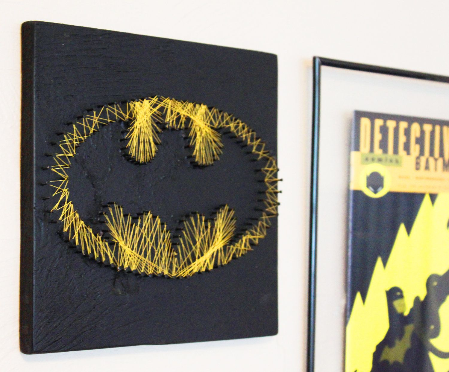 Batman string art wall hanging amipublicfo Image collections