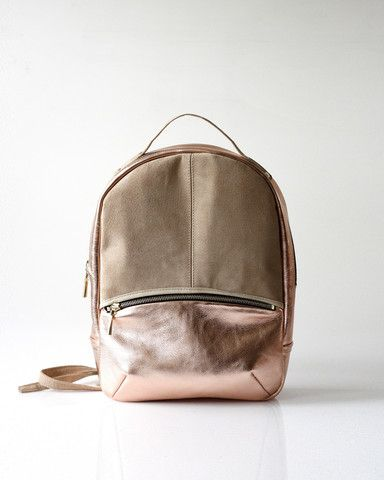 Baby Kanye Backpack / Copper. #handmade #toronto #canada | Jen's ...