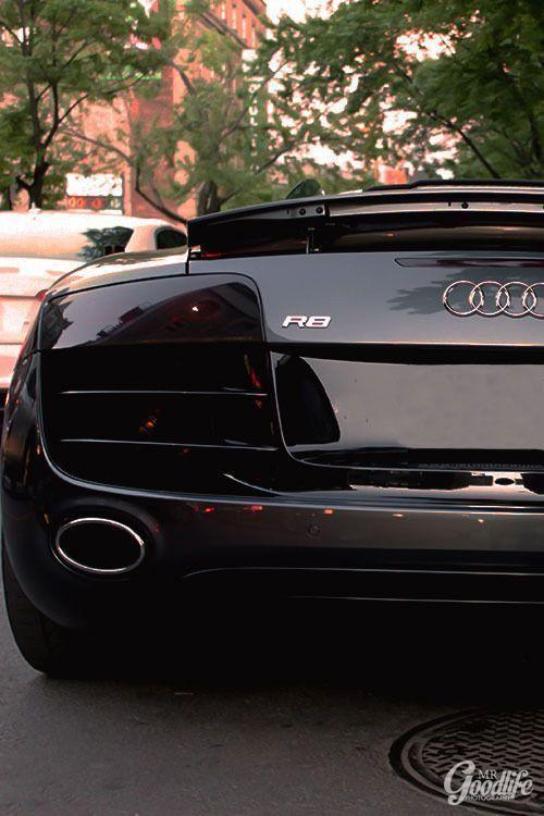 R8 Black - Audi Photos R8 Black -  -