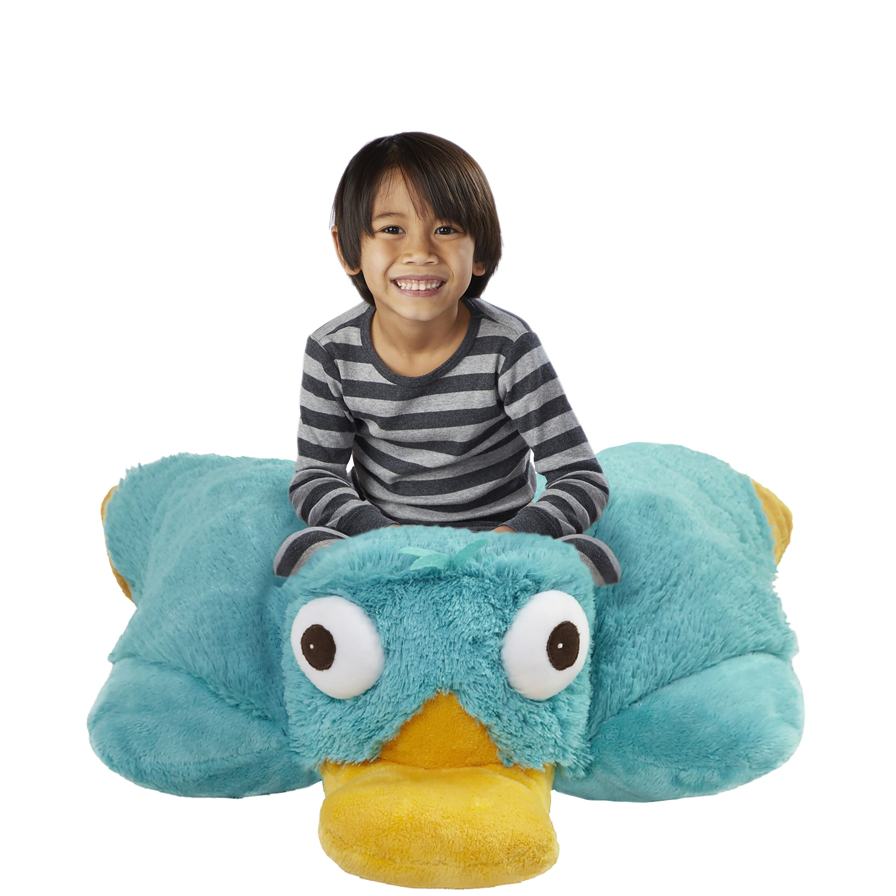 Pillow Pets The Official Home Of Pillow Pets Animal Pillows Plush Stuffed Animals Perry The Platypus