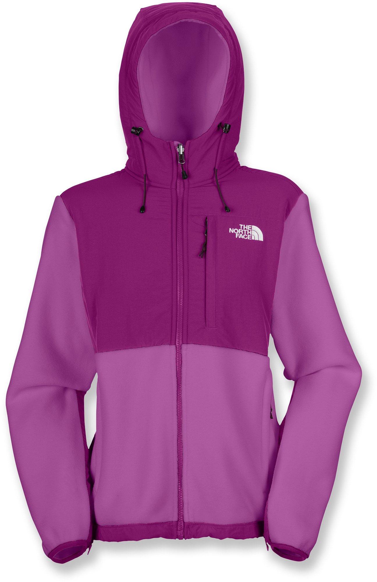 d865cc4b07f3 The North Face Denali Hoodie Fleece Jacket - Women s - Free Shipping at  REI.com