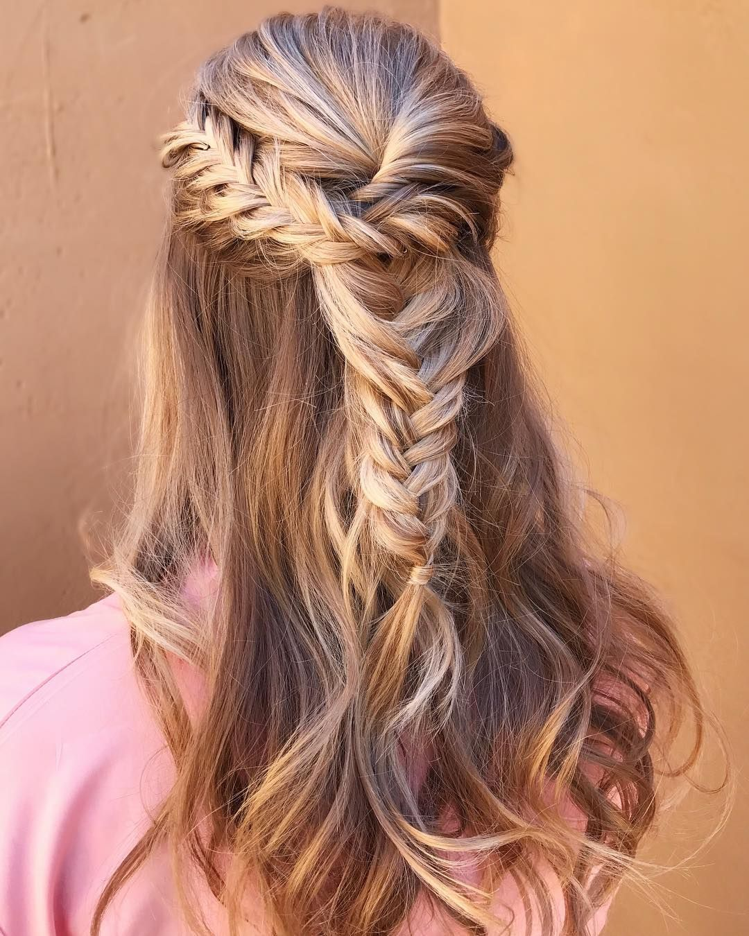 gorgeous half up half down hairstyles fabmood wedding colors