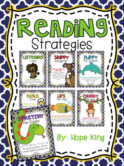 Reading strategies posters on pinterest kindergarten reading