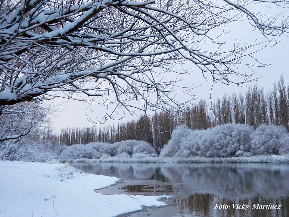 Invierno En Patagonia: Sarmiento ,Chubut,en Invierno. Rio Senguer
