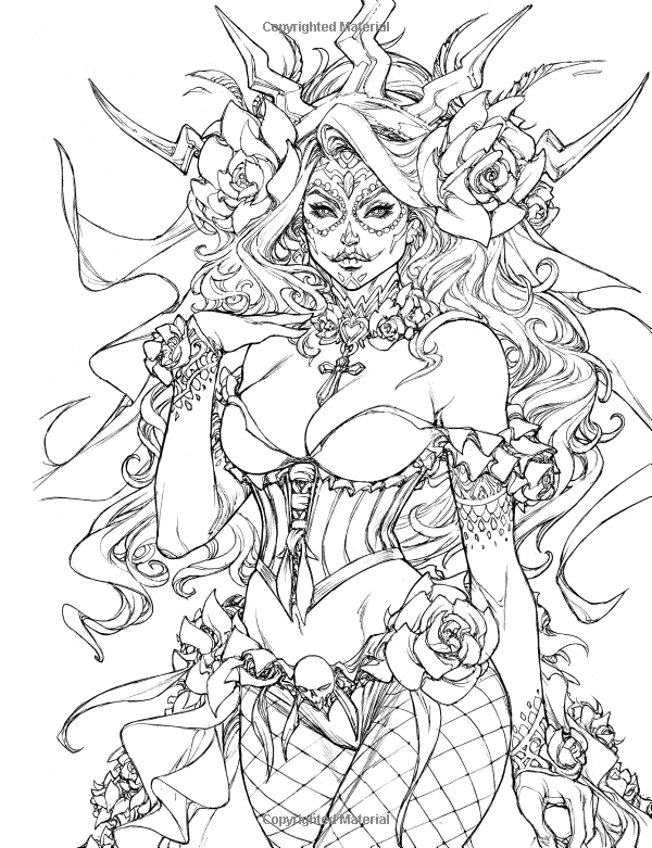 Grimm Fairy Tales Coloring Pages