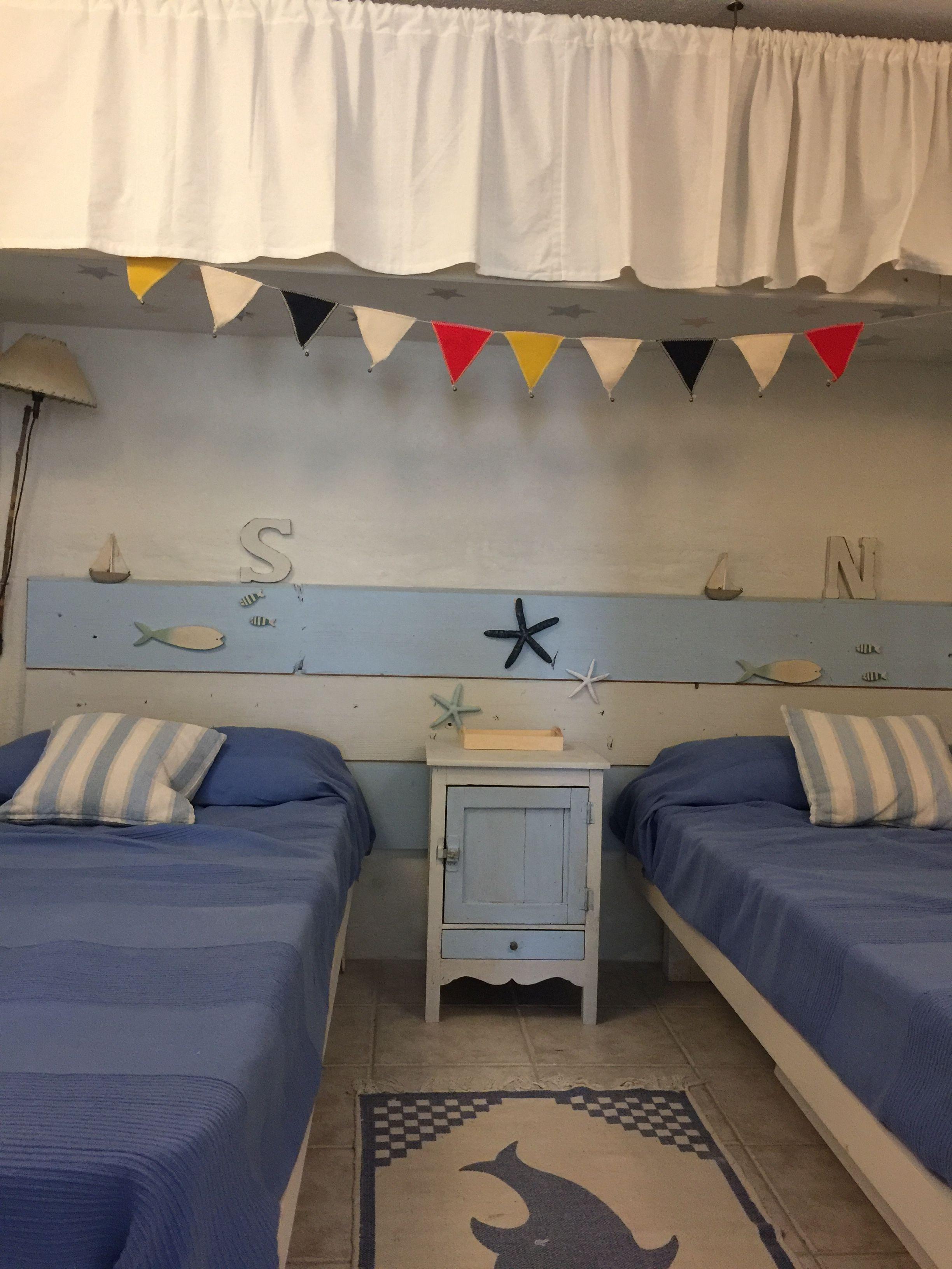 Motivo marinero para un cuarto infantil 🐚⚓️⛵️ (con ...