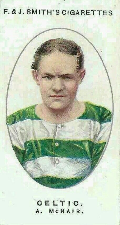 Alex McNair of Celtic in 1920.