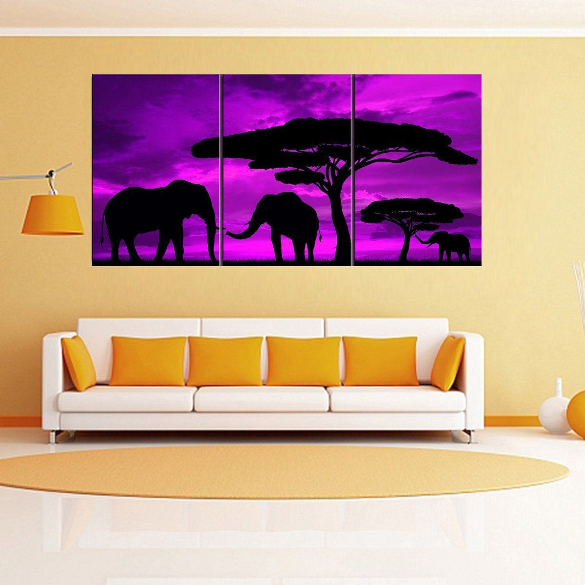 RAIN QUEEN 60*127cm Large Framed Modern Oil Painting Prints on ...