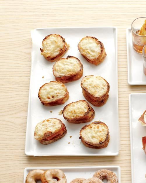 Mini Croques Monsieurs Recipe